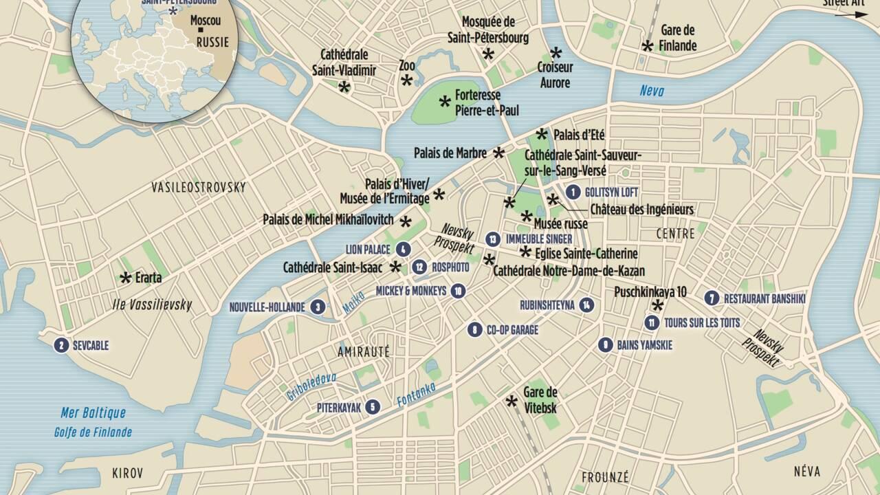 14 choses à faire à Saint-Pétersbourg