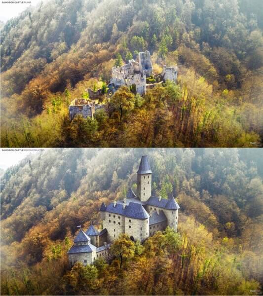 Le château de Samobor, Croatie