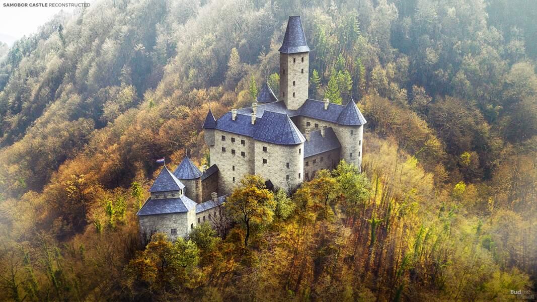 Sept châteaux reconstruits comme autrefois