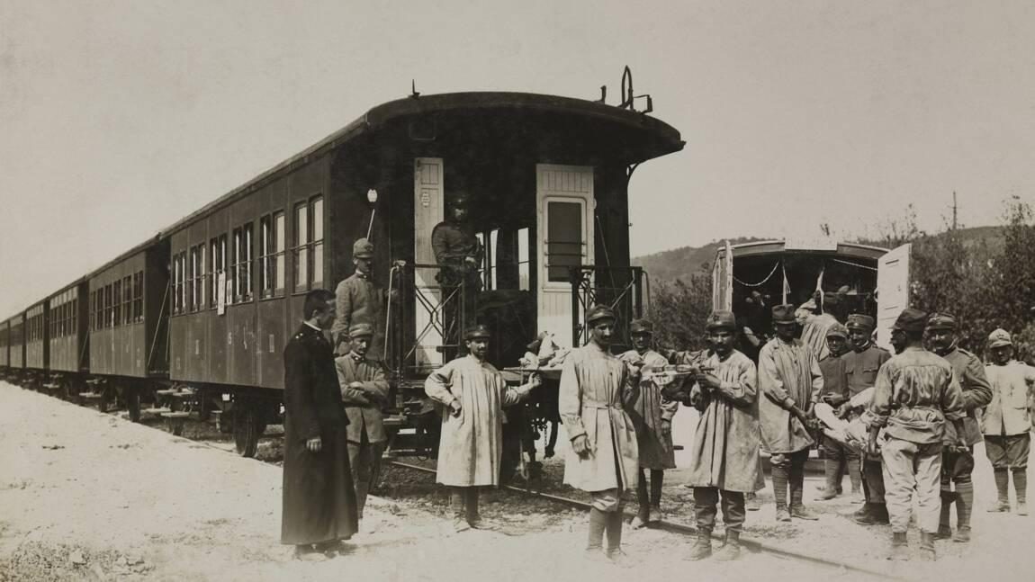 Le train sanitaire, des conflits du XIXe siècle au TGV du coronavirus