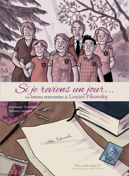 Le destin tragique de Louise Pikovsky en bande-dessinée