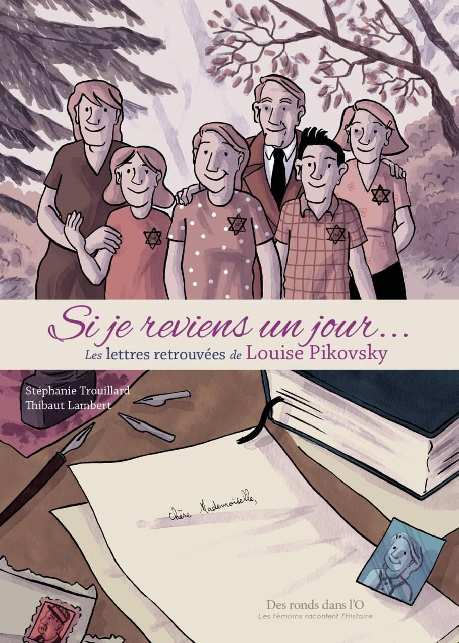 """""""Si je reviens un jour…"""" L'histoire de la Anne Frank de Boulogne-Billancourt devient une bande dessinée"""