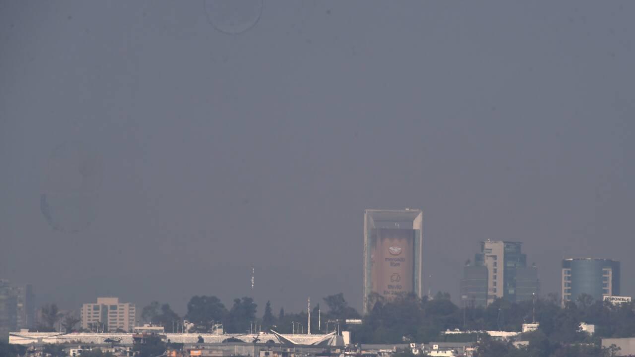 Malgré les mesures contre le Covid-19, la pollution à Mexico résiste