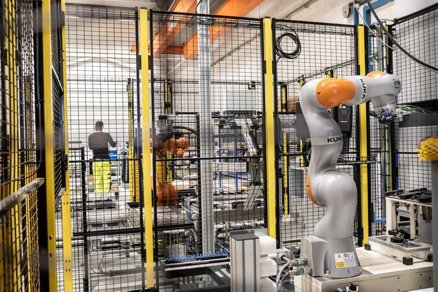 Production dans l'usine Siemens