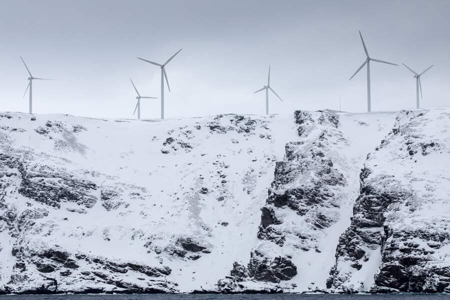 De moins en moins d'éoliennes