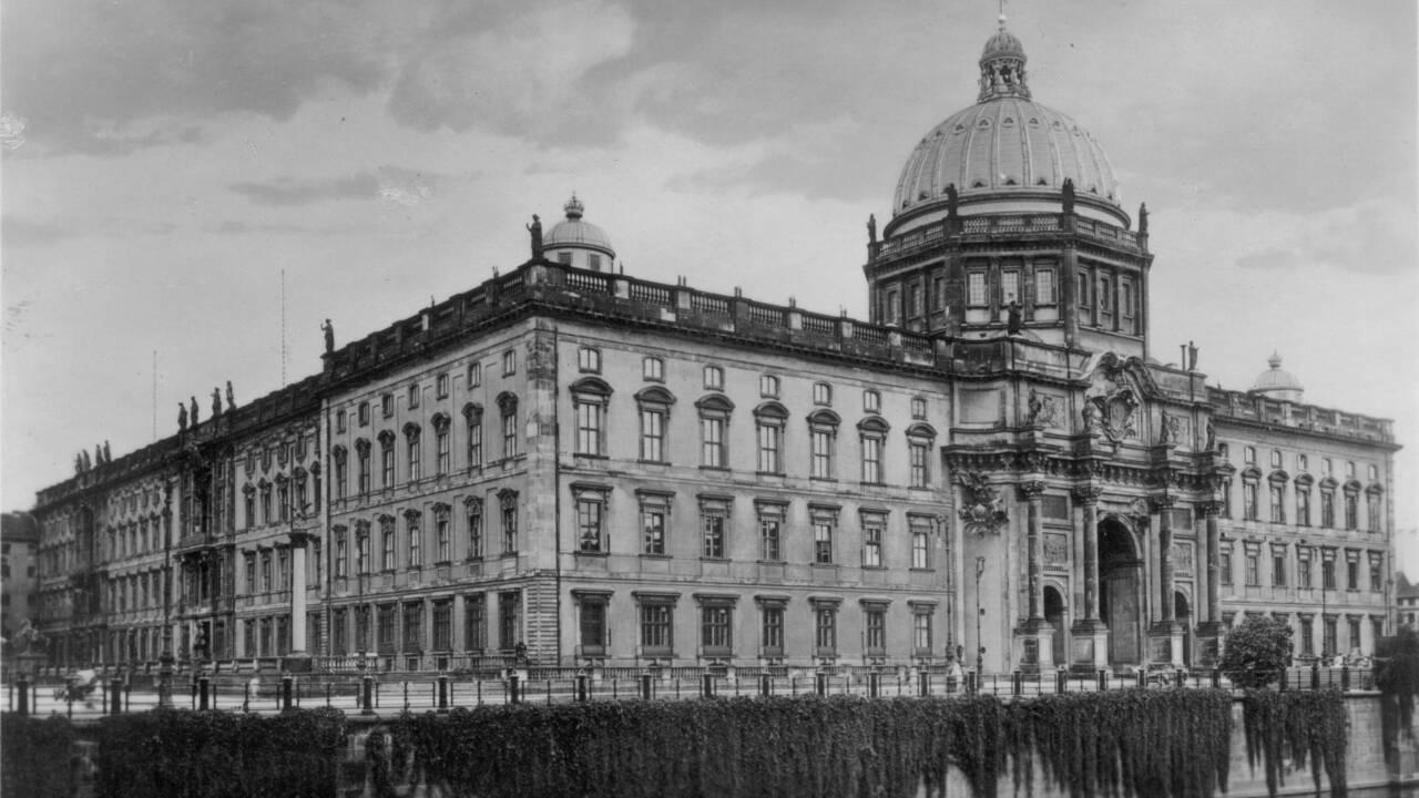 Berlin : Incendie maîtrisé sur le chantier du château des rois de Prusse