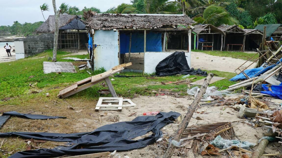 Le cyclone tropical Harold frappe les Fidji