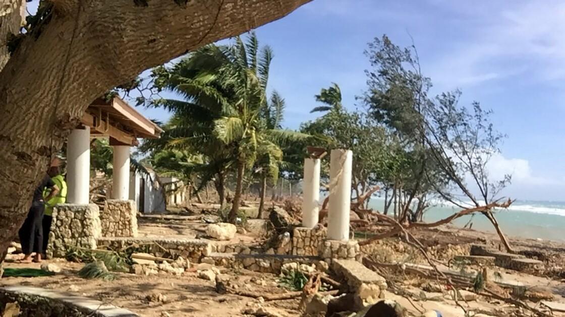Aux Tonga, le cyclone Harold a détruit des complexes touristiques