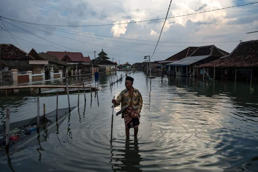 Rues inondées