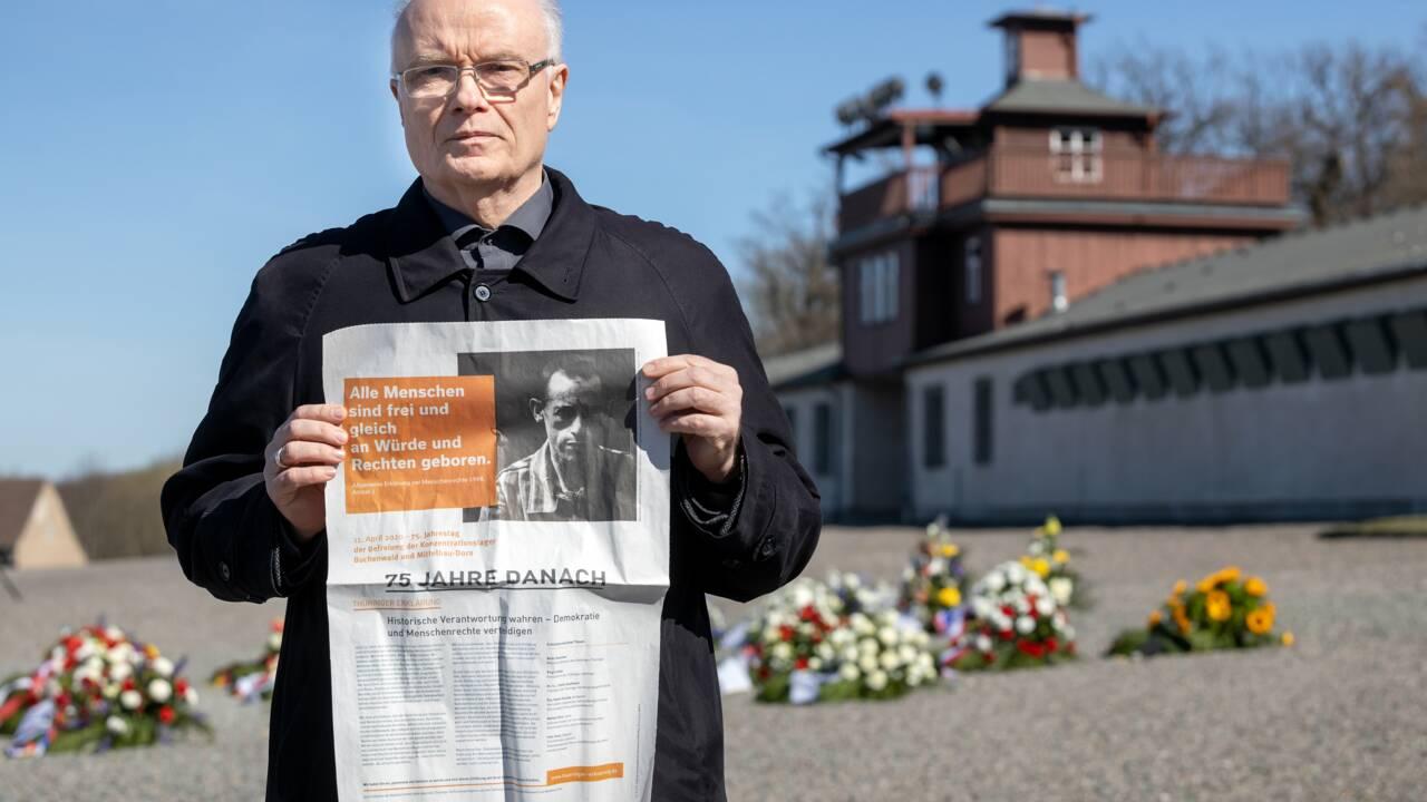 75 ans après sa libération, Buchenwald rend un hommage virtuel aux victimes du nazisme