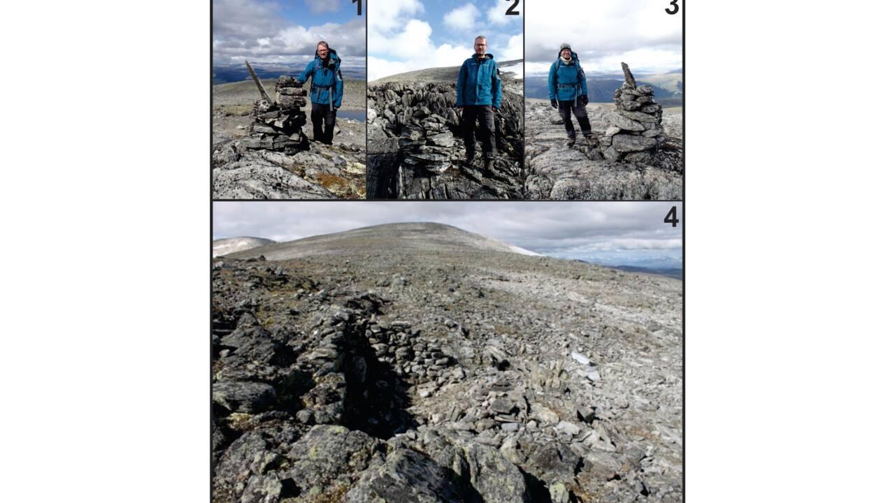 La fonte des glaces libère des centaines d'artéfacts d'une ancienne route viking en Norvège