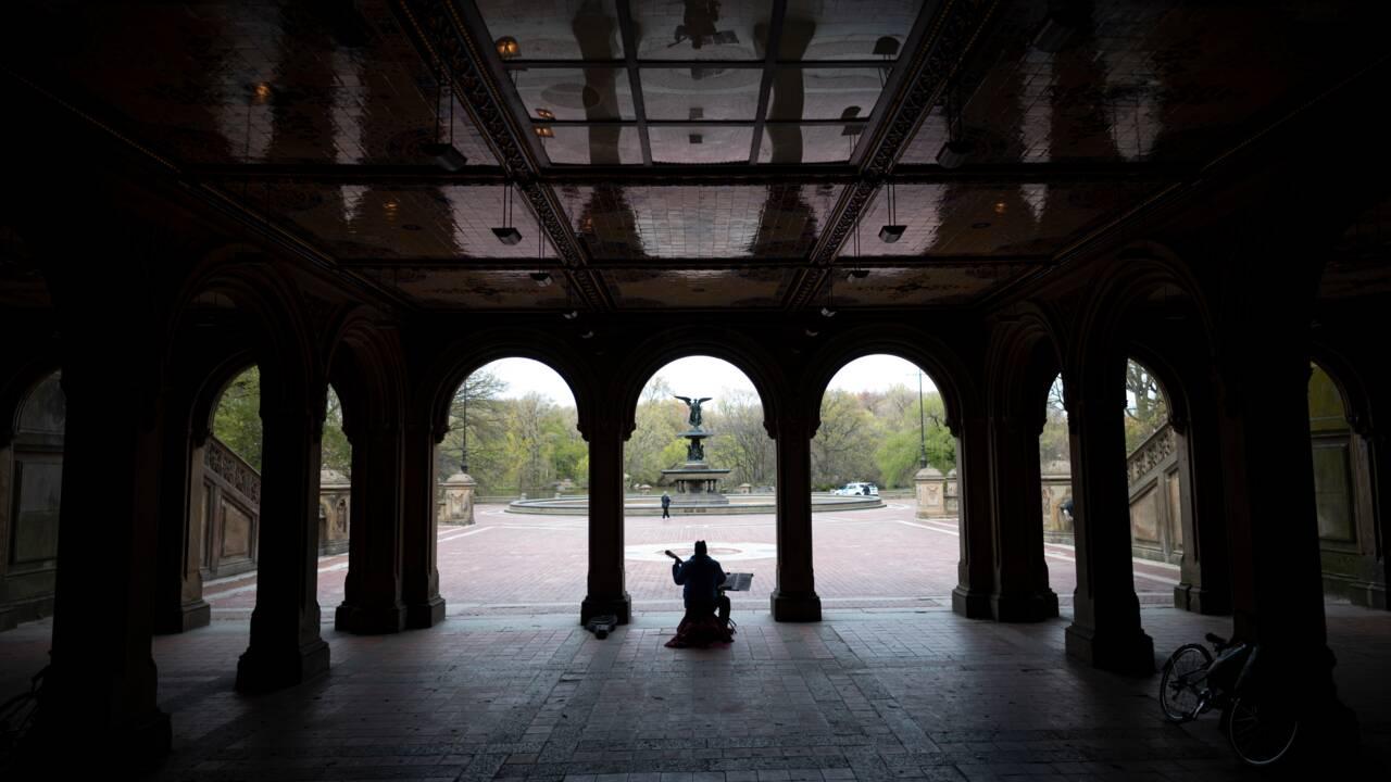 New-York : Central Park, plus que jamais havre de paix face à la pandémie