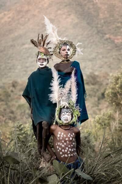Trio tribal