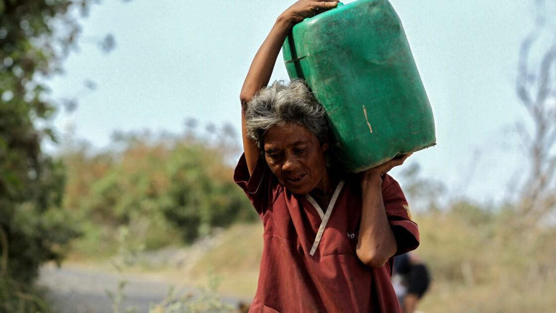 """""""24 heures en quête d'eau"""" au Mexique"""