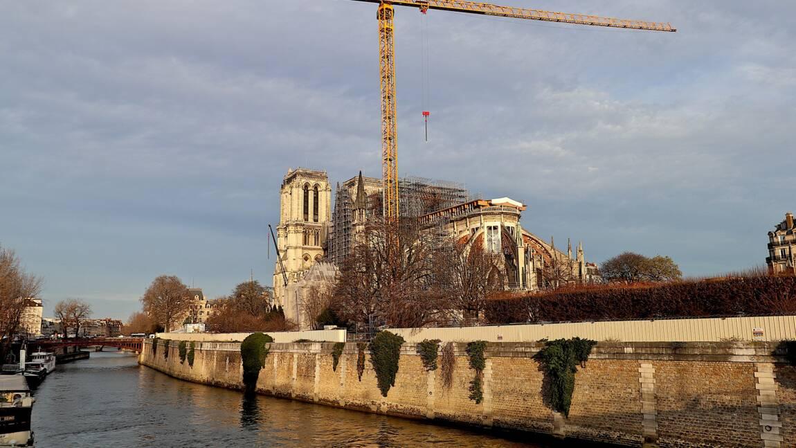 Notre-Dame de Paris: Le démontage de l'échafaudage commence