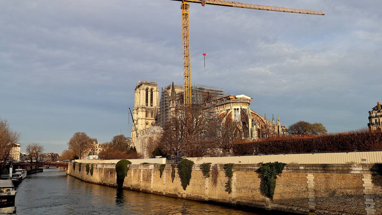 """Notre-Dame de Paris : une """"reprise progressive"""" du chantier dès lundi"""
