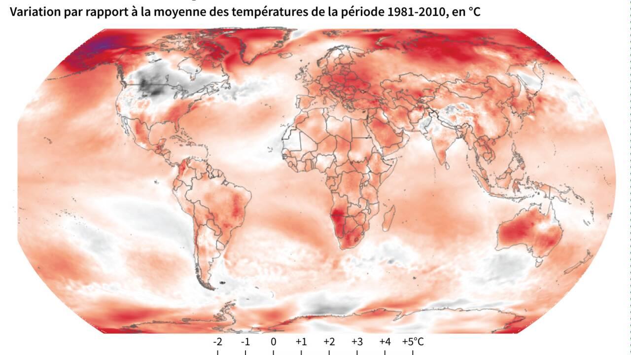 La pandémie ne doit pas éclipser le réchauffement climatique, alerte l'ONU