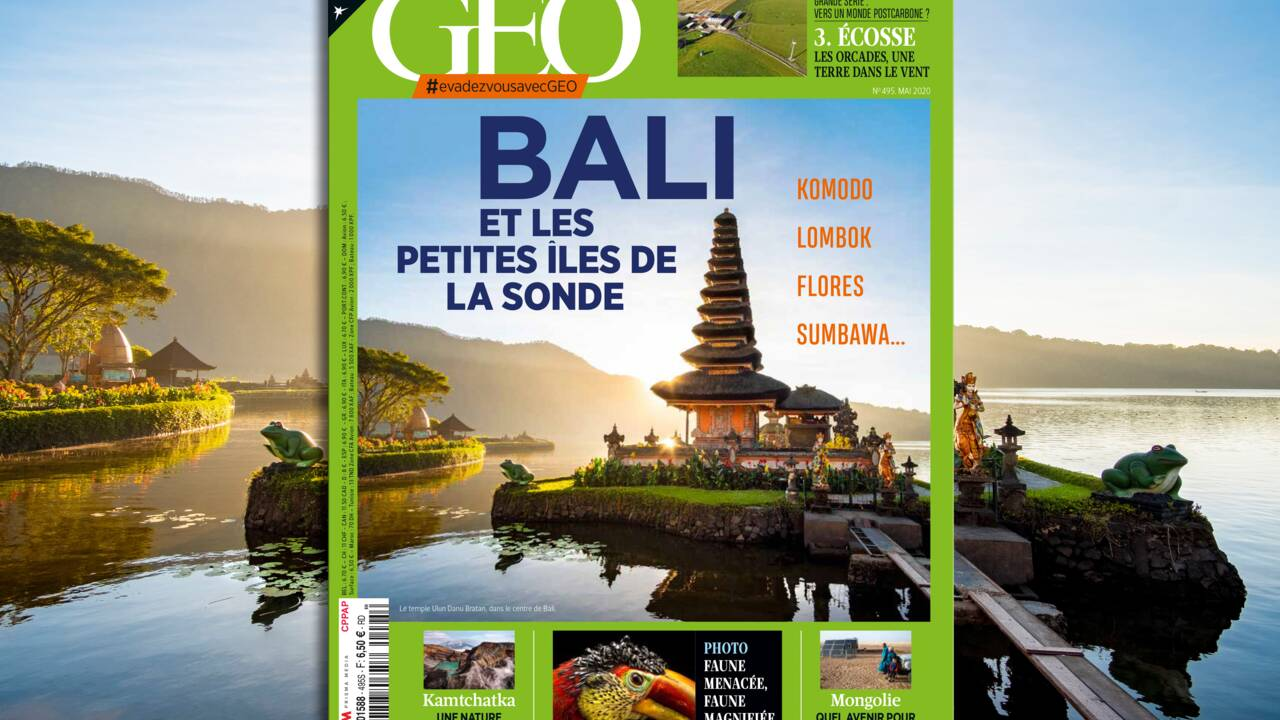 Bali et les petites îles de la Sonde au sommaire du nouveau numéro de GEO