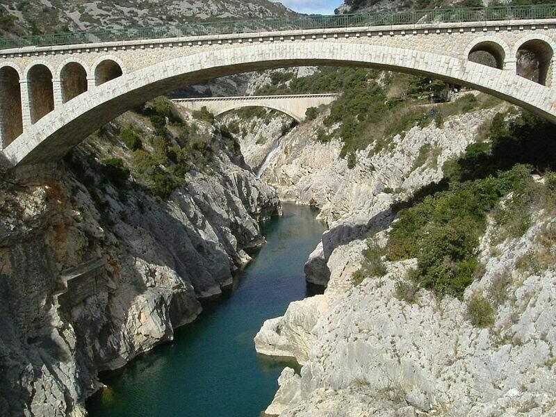 Les gorges de l'Hérault