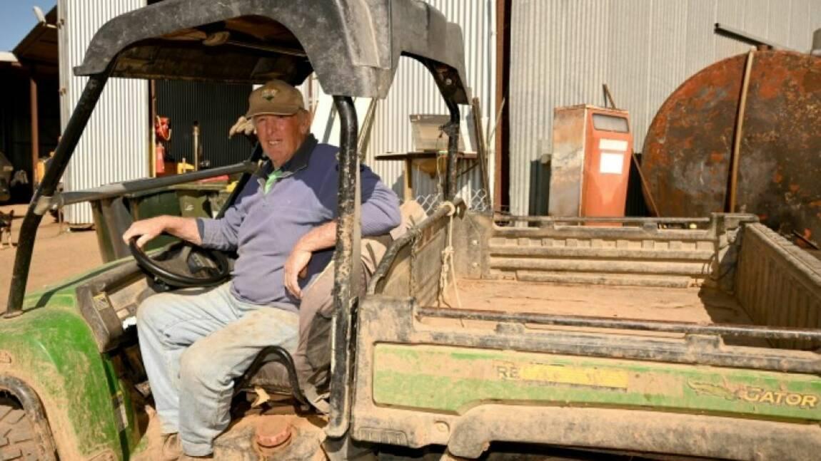 Une pluie d'optimisme pour des éleveurs australiens à bout