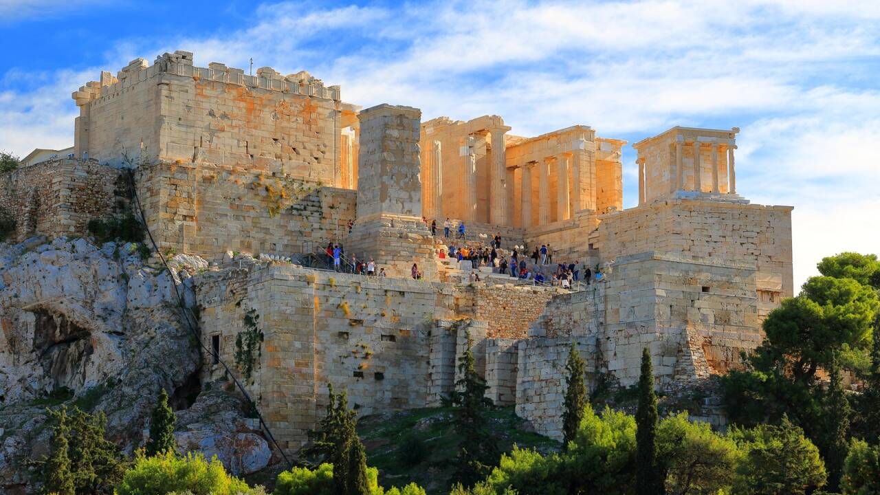 La Grèce annonce la réouverture de l'Acropole d'Athènes et de ses musées