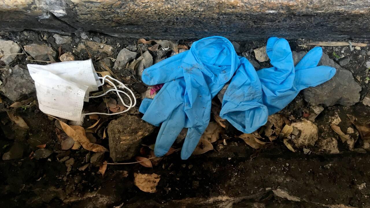 Coronavirus: au Moyen-Orient, gants et masques polluent villes et nature