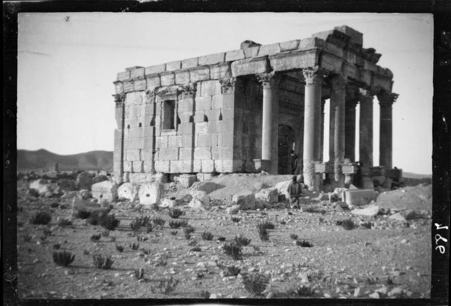 Feu le temple de Baalshamin