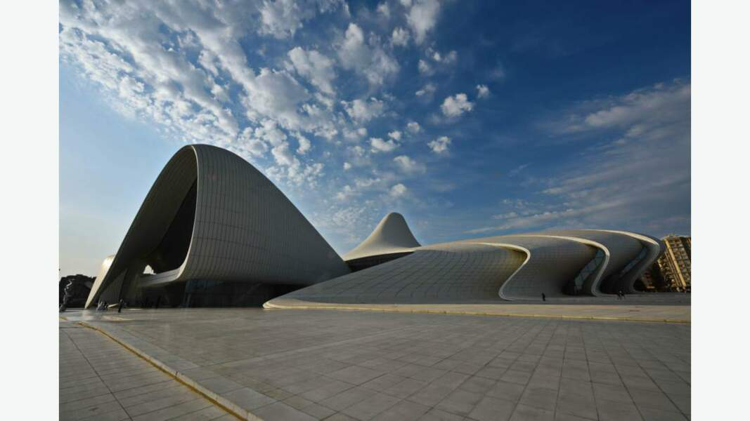 Centre culturel Heydar-Aliyev,  Bakou, Azerbaïdjan