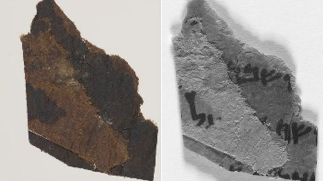 Des fragments de manuscrits de la mer Morte supposés vierges révèlent des textes cachés