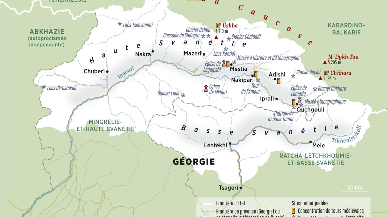 Svanétie : voyage dans la petite Suisse du Caucase