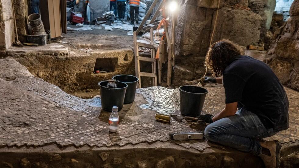 Près du Mur des Lamentations à Jérusalem, de mystérieuses pièces souterraines dévoilées