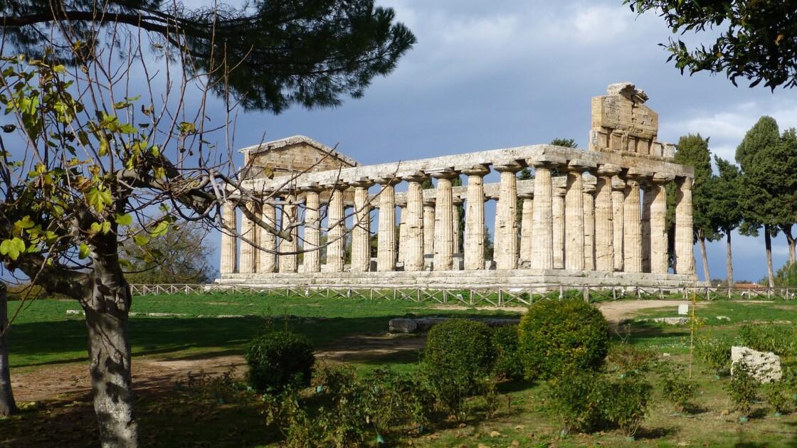 En Italie, le site antique grec de Paestum rouvre avant Pompéi, son rival romain