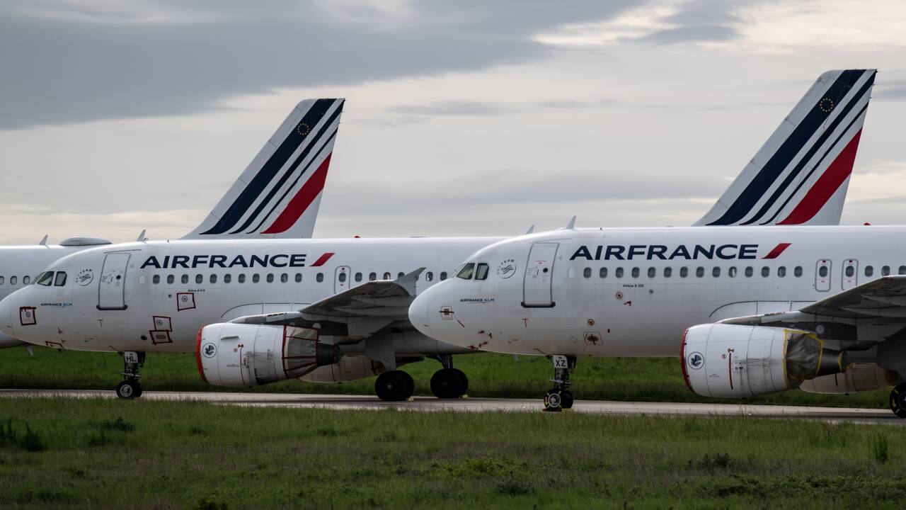 Air France: l'offre sur les vols en France va fondre de 40% d'ici à 2021
