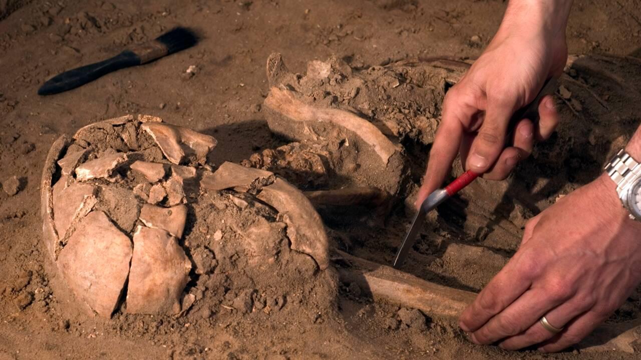 Le squelette d'un soldat romain datant du Ve siècle découvert en Allemagne