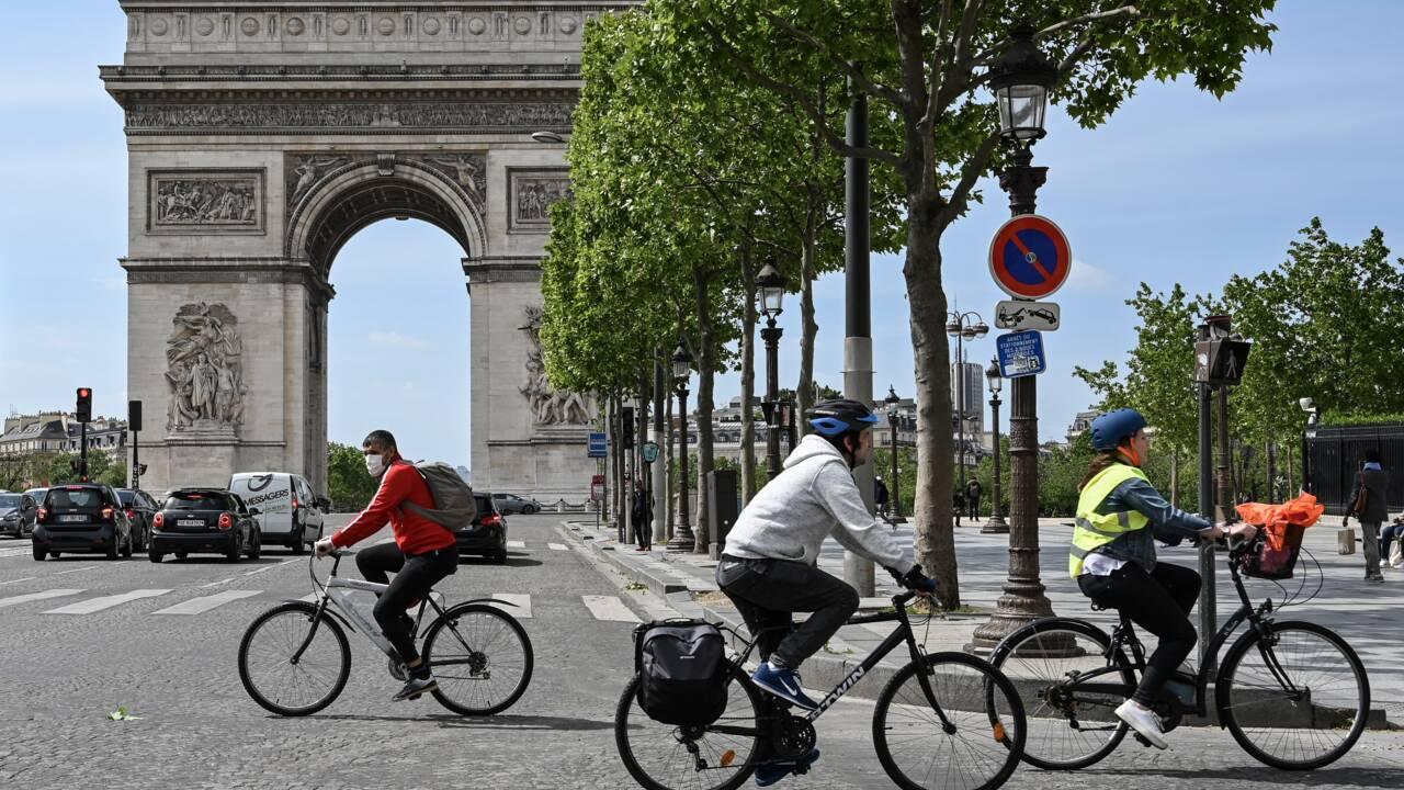 Borne annonce un triplement du budget dédié au plan vélo