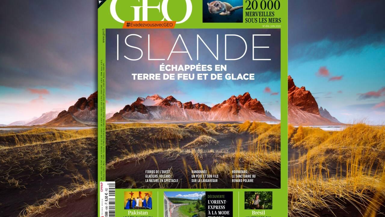 L'Islande au sommaire du nouveau numéro de GEO