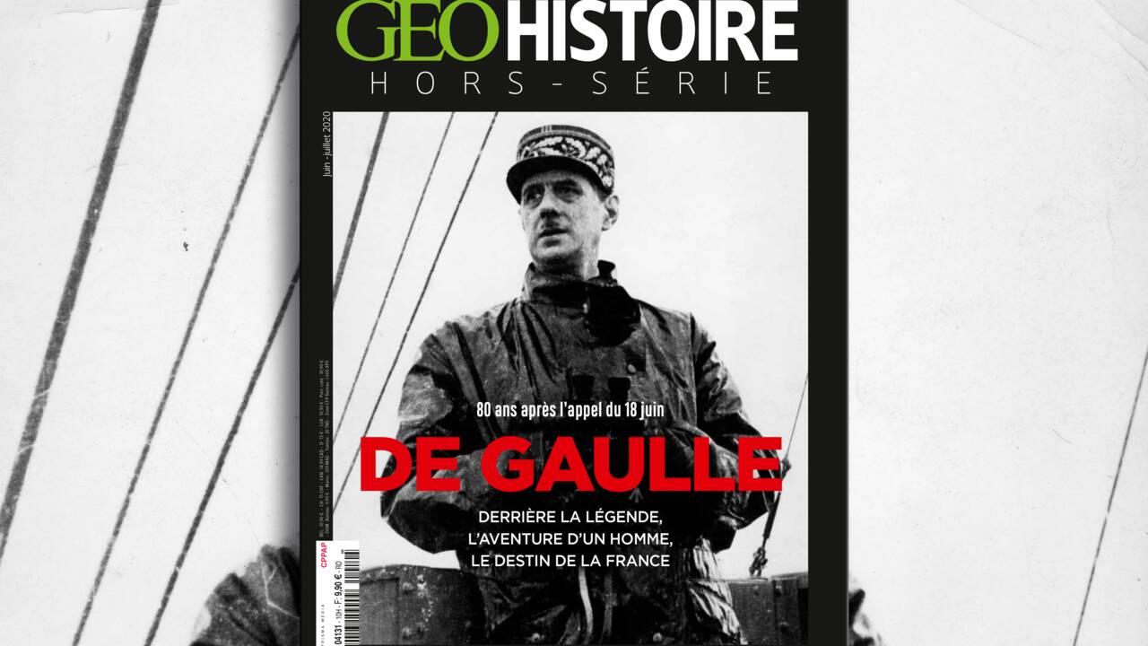 80 ans après l'appel du 18 juin, de Gaulle au sommaire du nouveau hors-série GEO Histoire