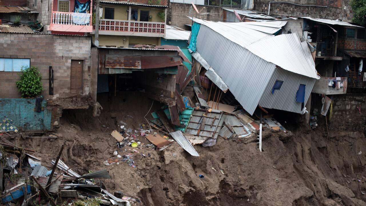 La tempête tropicale Amanda frappe le Salvador et le Guatemala : 14 morts