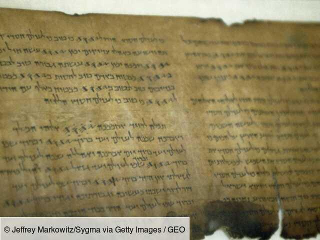 L'ADN lève le voile sur une partie du secret des manuscrits de la mer Morte