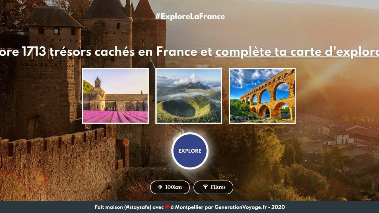 Un générateur d'idées de voyages en France pour préparer ses vacances d'été