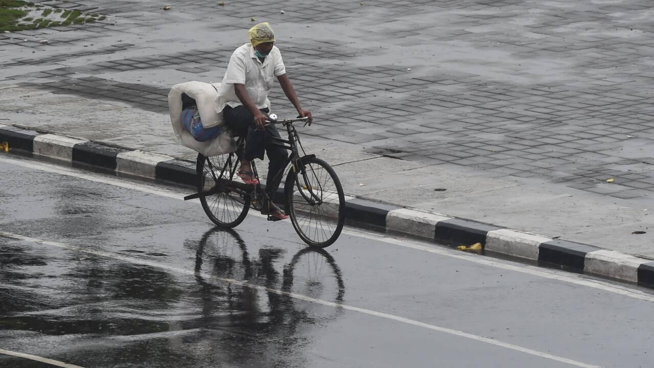 Inde: le cyclone Nisarga épargne largement Bombay