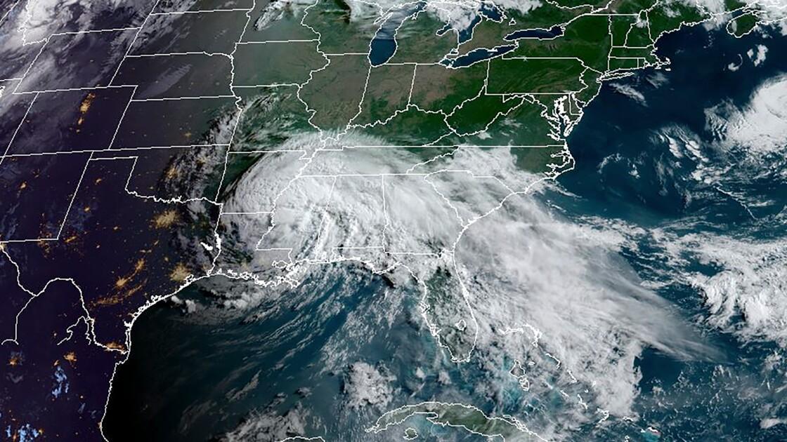 Etats-Unis: la tempête tropicale Cristobal va se réduire à une dépression