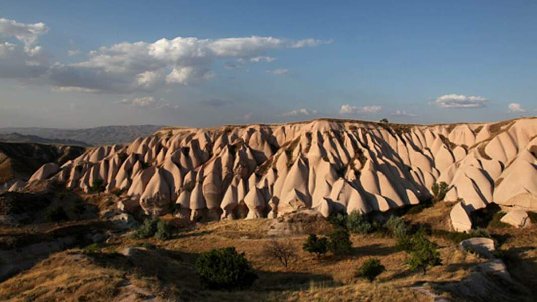 Paysage de Cappadoce, aux environs d'Uçhisar