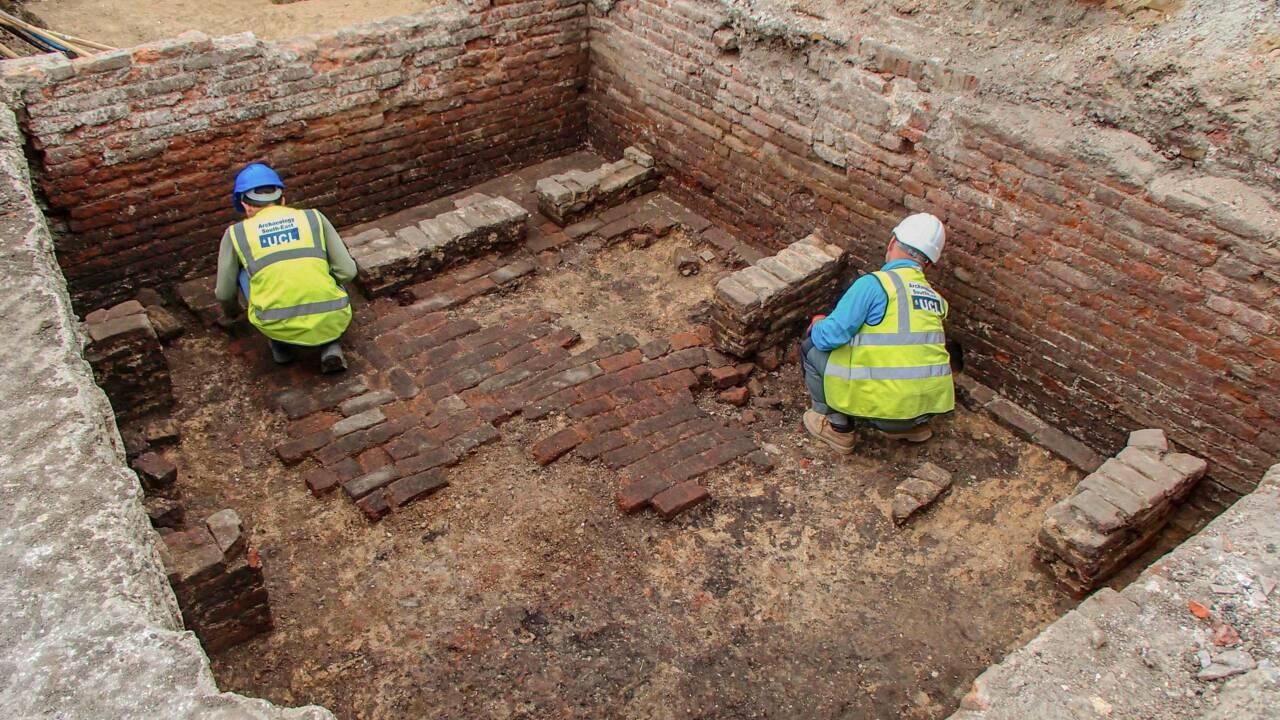 Des archéologues pensent avoir découvert les ruines du plus ancien théâtre de Londres