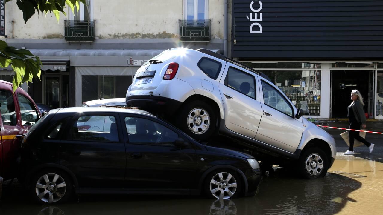 Pluies torrentielles à Ajaccio: 200 personnes mises en sécurité