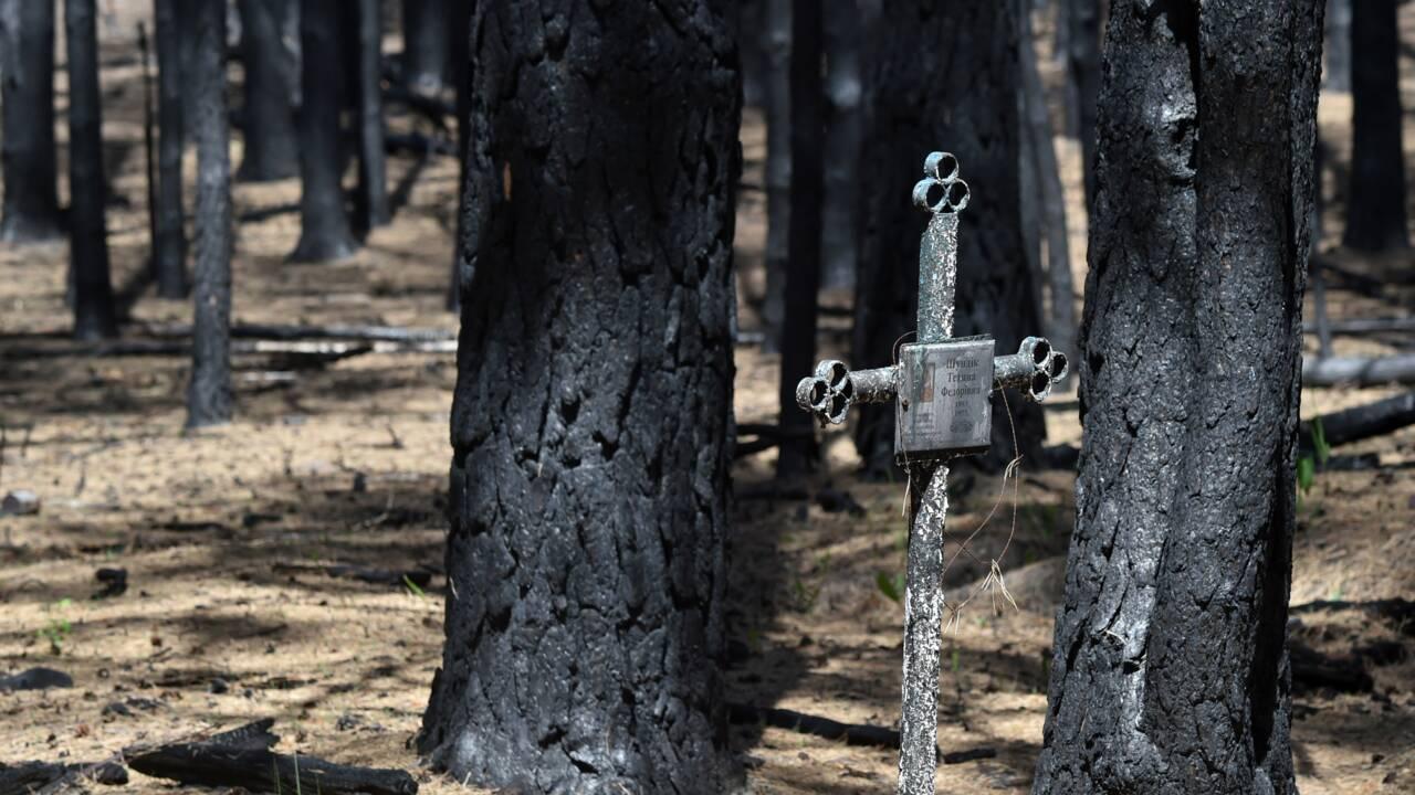 A Tchernobyl, des scientifiques mesurent le désastre après des incendies record