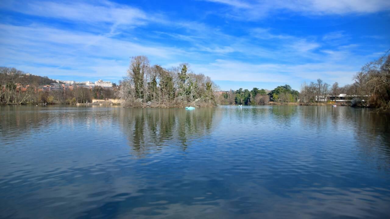 A Lyon, des plongeurs dévoilent le monde caché dans le lac du parc de la Tête d'Or