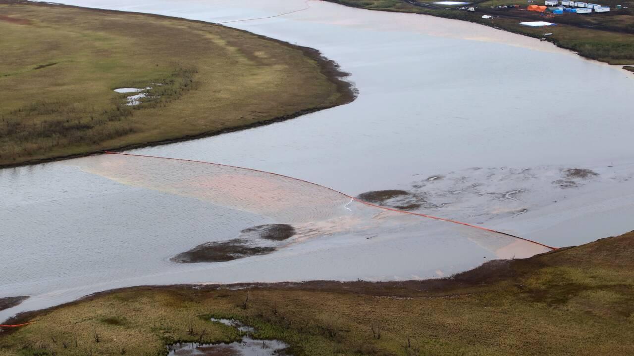 Pollution dans l'Arctique russe: le nettoyage en surface terminé