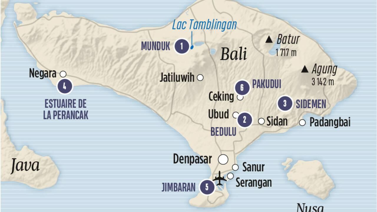 6 choses à faire à Bali loin de la frénésie