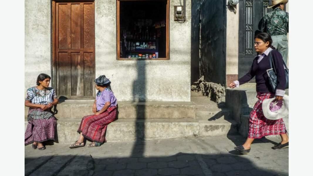 Guatémaltèques dans la rue